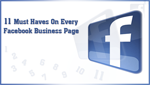 11 Must Haves for Every Facebook Business Page